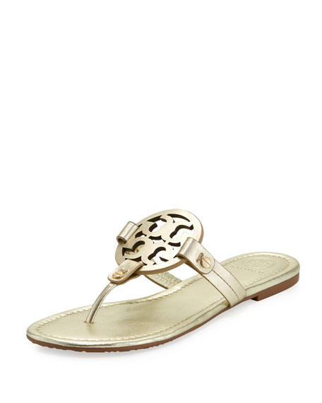 Miller Leather Logo Sandal