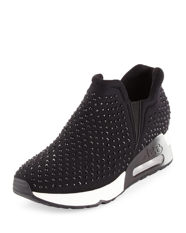 9ede6cadb57b6 Ash Lifting Crystal Slip-On Sneakers