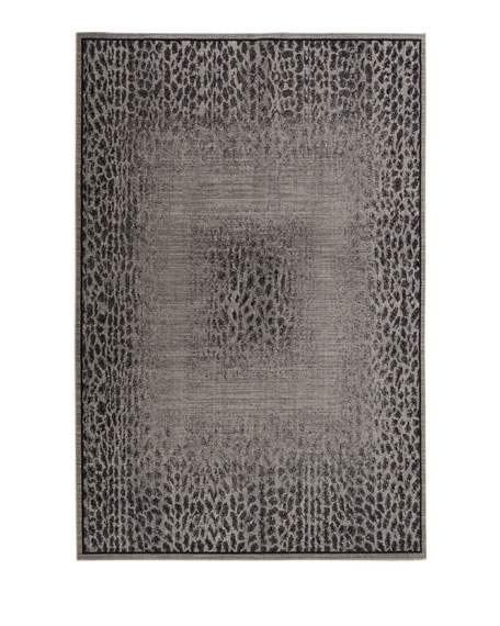 "Leonardo Animal Pattern Rug, 7'9"" x 10'10"""