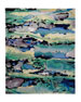 "Image 6 of 6: NourCouture Prism Ocean Rug, 3'9"" x 5'9"""
