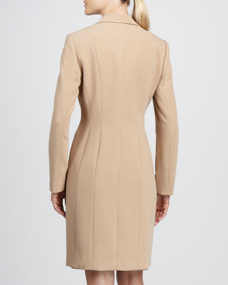 Jacket & Belted Sheath Dress Set