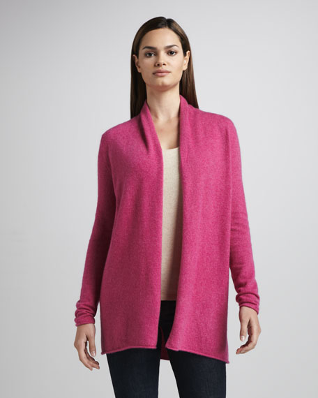 Cashmere Draped Cardigan, Women's