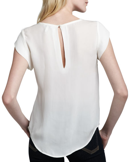 Rancher Short-Sleeve Blouse