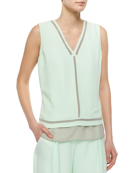 Elie TahariHerika Sleeveless Striped Top