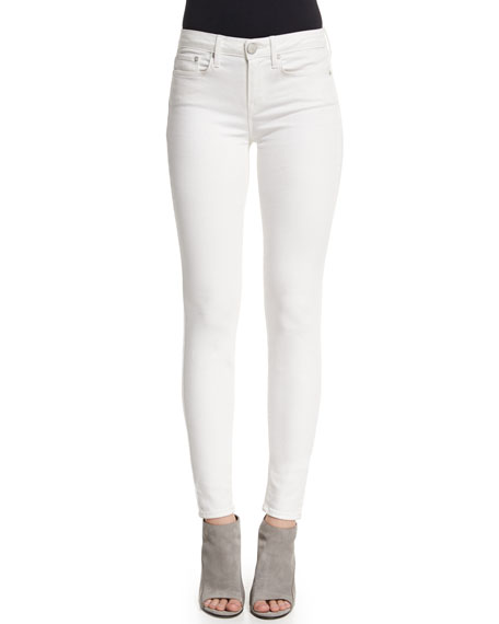 Vince Riley Skinny Jeans, White