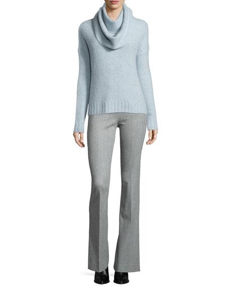 Crewneck Sweater w/ Detachable Scarf