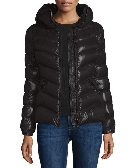 Akebia Hooded Wave Puffer Jacket