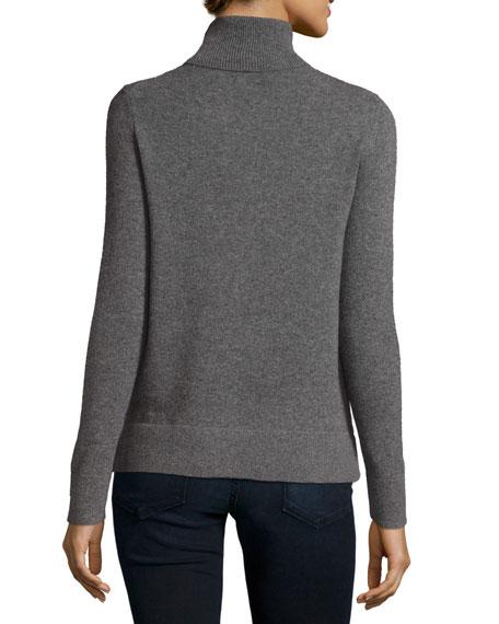 Neiman Marcus Cashmere Collection Modern Cashmere Turtleneck
