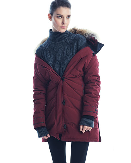 Lorette Fur-Hood Down Parka