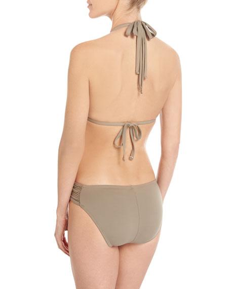 Island Goddess Halter Bikini Swim Top