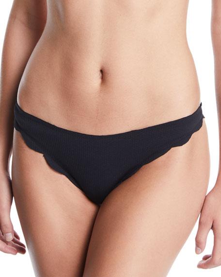 Marysia Broadway Scalloped Swim Bikini Bottom