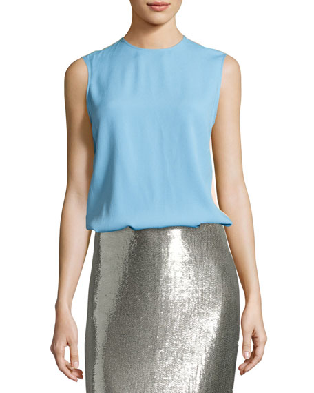 Diane von Furstenberg Shell & Pencil Skirt