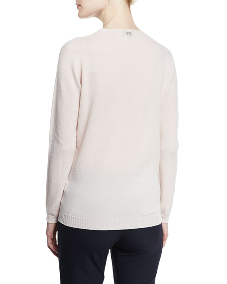 Cashmere V-Neck Boyfriend Sweater