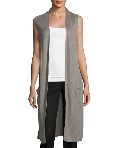 Sleeveless Duster Vest