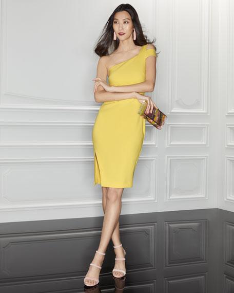 Packard One-Shoulder Cocktail Dress