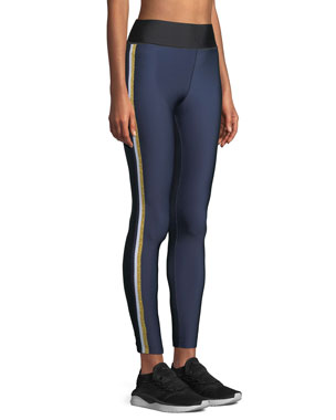 9189767107486 Ultracor Ultra-High Lux Collegiate Leggings with Side Stripes