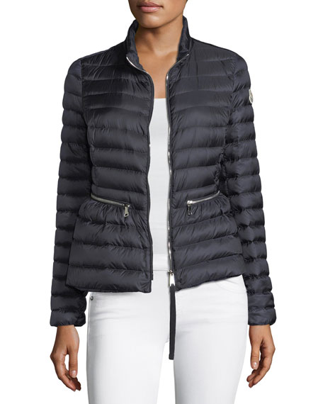 Moncler Agate Short Quilted Puffer Jacket