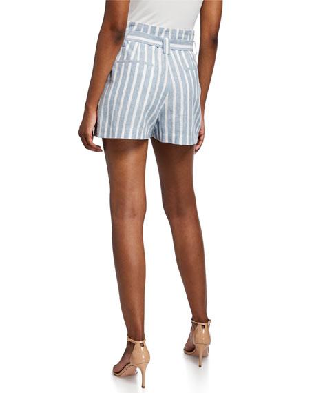 L'Agence Alex Paperbag Shorts