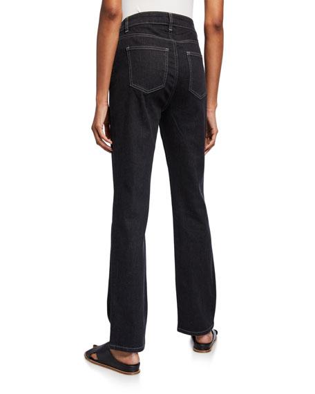 Eileen Fisher Straight-Leg Crop Jeans
