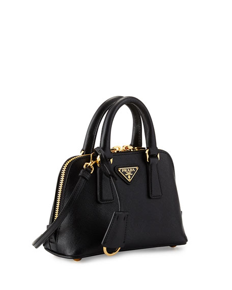 2ee6a7c4889e Prada Small Saffiano Promenade Bag Black (nero) | Stanford Center ...