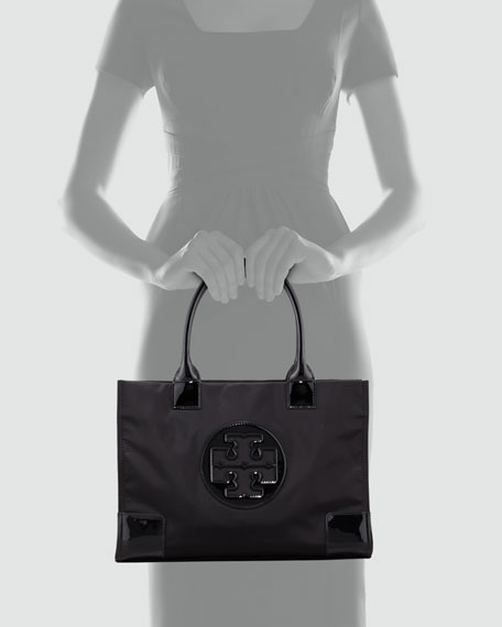 Mini Ella Tote Bag, Black