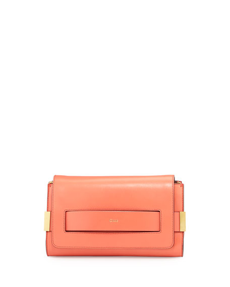 chloe replica bags - chloe leather nancy clutch, replica chloe handbags