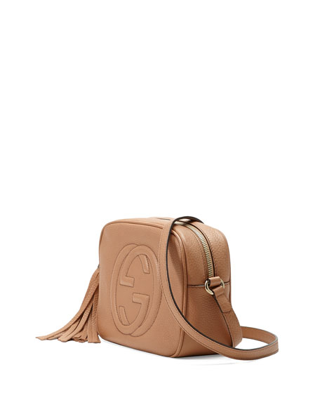 Gucci Soho Small Shoulder Bag, Beige