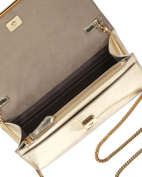 Fendi Gold Wallet
