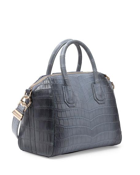 b17cc71f07 Givenchy Antigona Small Crocodile Bag