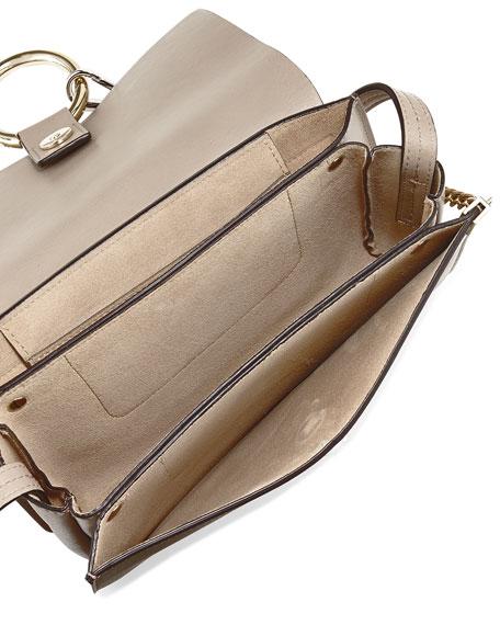 Chloe Faye Small Suede Shoulder Bag