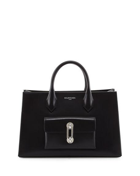 AJ XS Tote Bag, Black