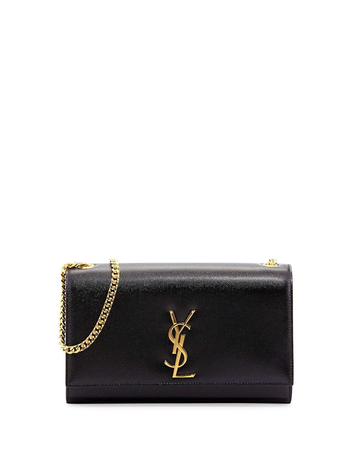 7b4b693a40 Saint Laurent Kate Monogram YSL Medium Shoulder Bag