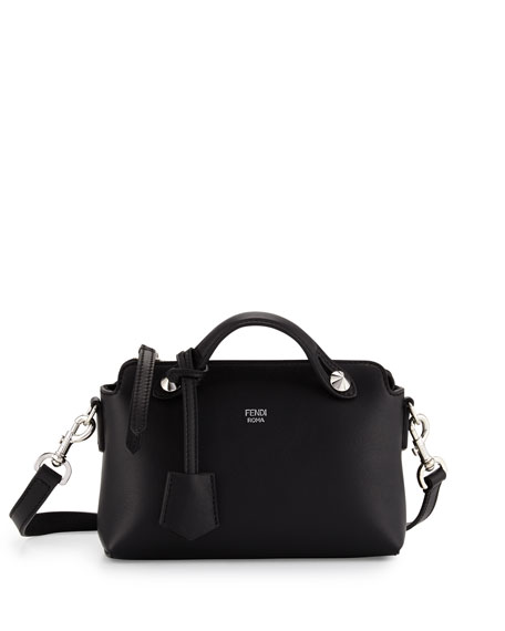 Fendi By the Way Mini Satchel Bag, Black