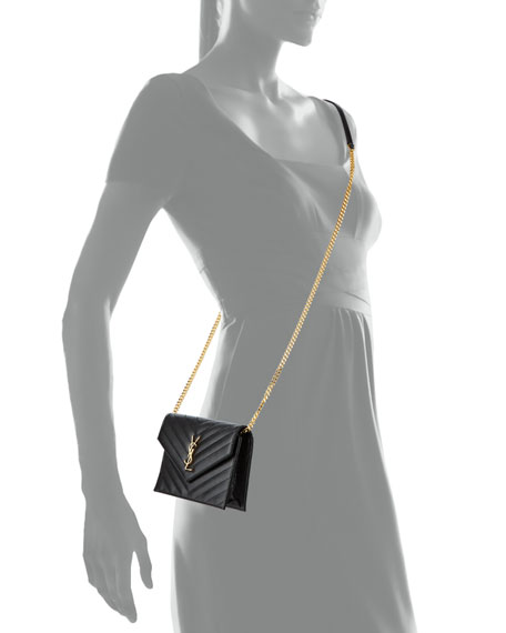 Monogram Matelassé Small Envelope Wallet-on-Chain