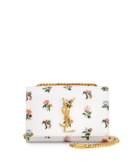 Monogram Prairie Flower Small Crossbody Bag, White Multi
