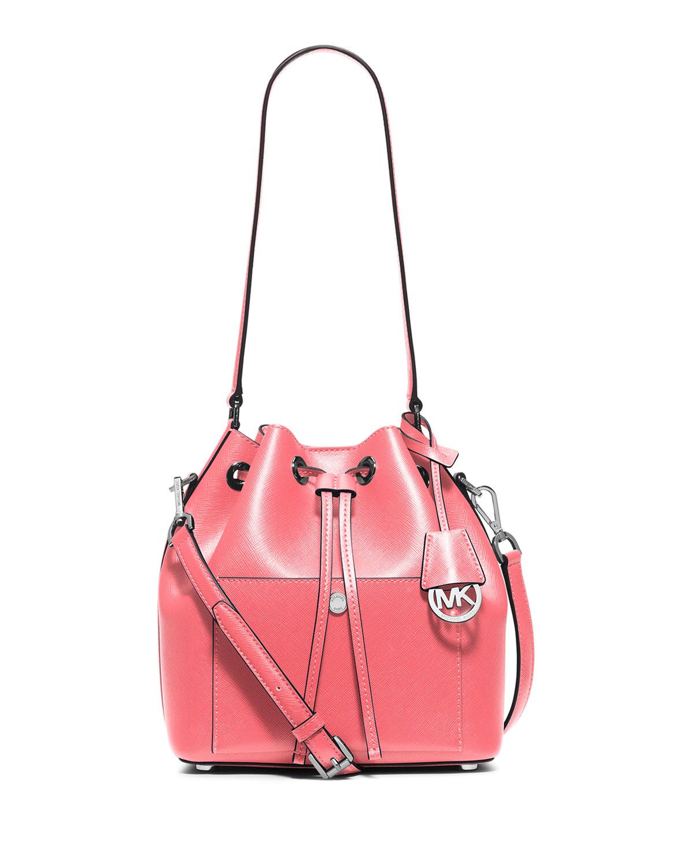 b904961e117c MICHAEL Michael Kors Greenwich Medium Bucket Bag