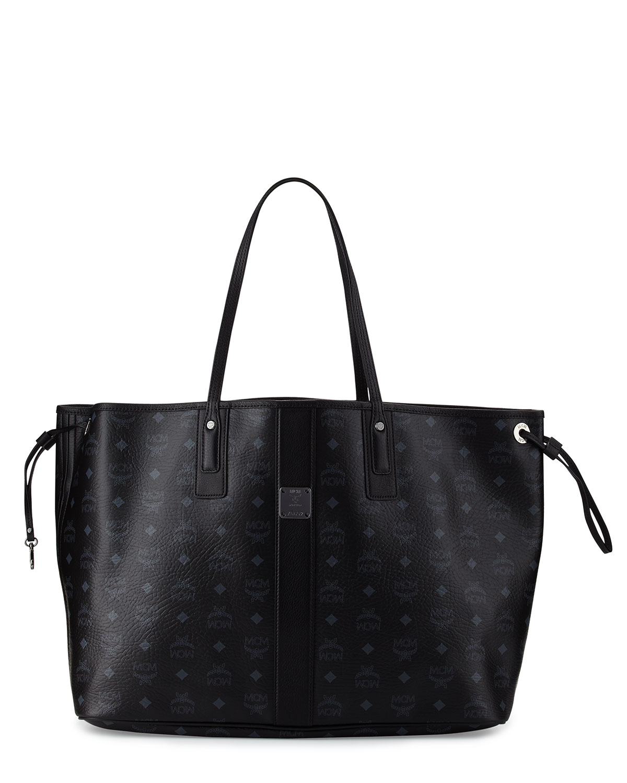 776b1dcdaa5a MCM Liz Large Reversible Shopper Tote Bag