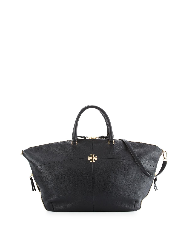 6e2d0bc843de Tory Burch Ivy Slouchy Leather Satchel Bag