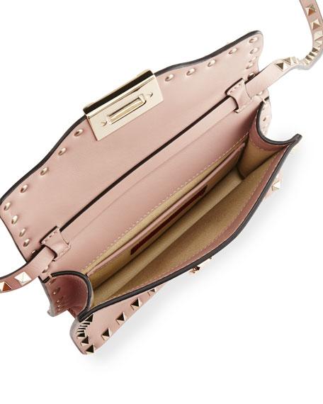 Small Rockstud Flap Crossbody Bag