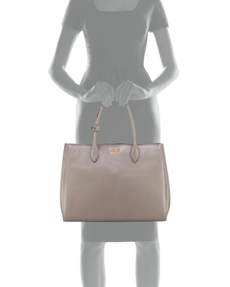 Bibliothèque XL Soft Leather Tote Bag