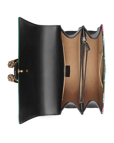 Dionysus Medium Jacquard Top-Handle Satchel Bag