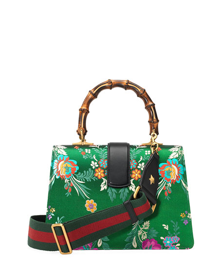 Dionysus Medium Jacquard Top-Handle Satchel Bag