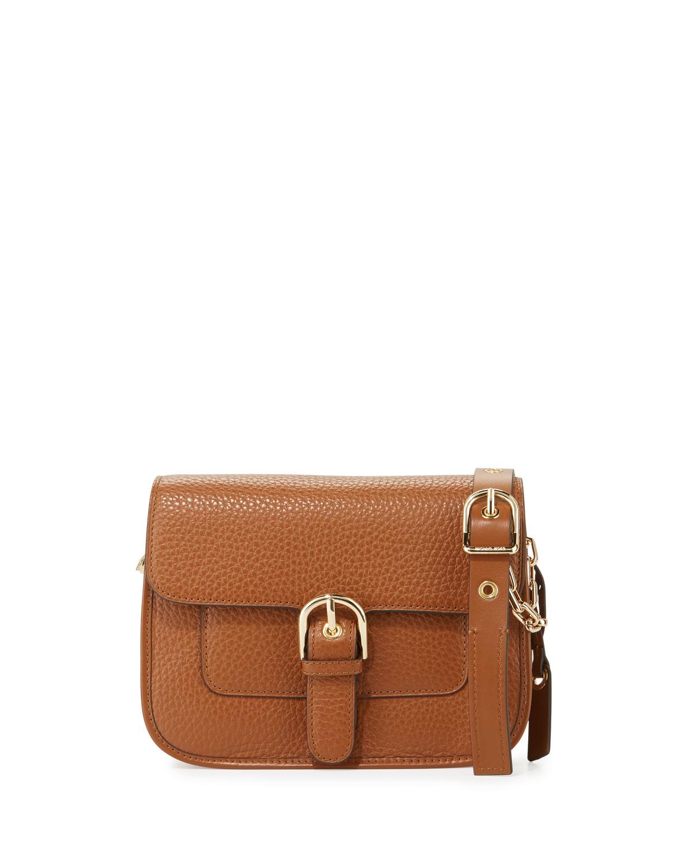 ed8388fa52f2 MICHAEL Michael Kors Cooper Medium Leather Messenger Bag | Neiman Marcus