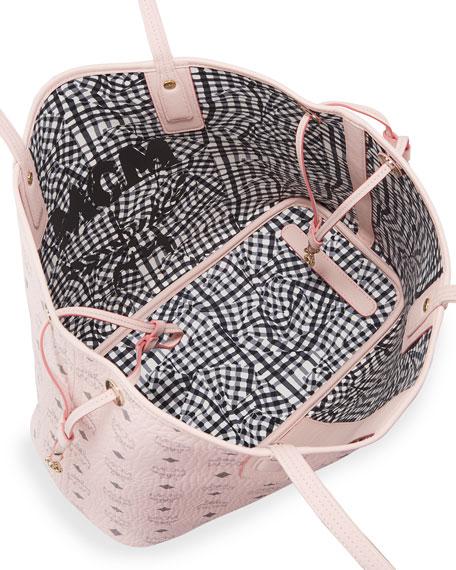 Liz Reversible Medium Visetos Tote Bag