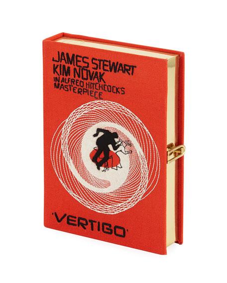 Vertigo Movie Poster Clutch Bag, Orange