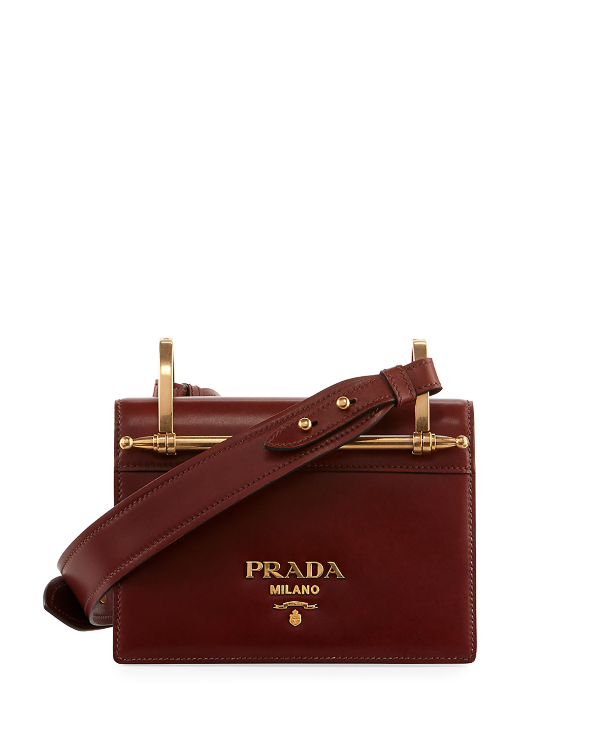 0ef5273ce519 Prada Pionerre Small Flap Crossbody Bag