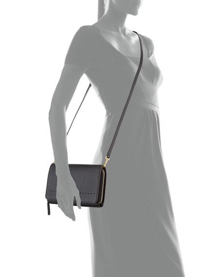 McGraw Flat Crossbody Wallet Bag