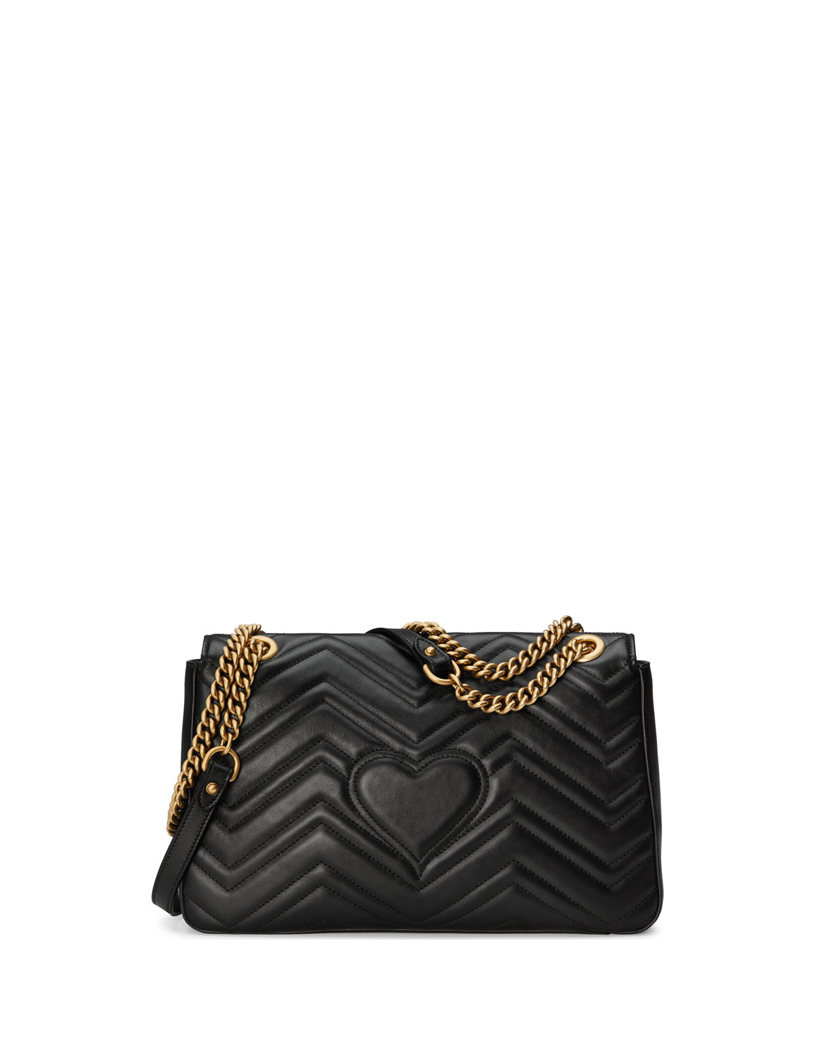 fdef74124 Gucci GG Marmont Medium Insect Shoulder Bag | Neiman Marcus