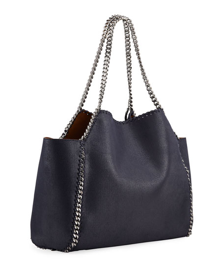 Falabella Medium Shaggy Deer Reversible Tote Bag