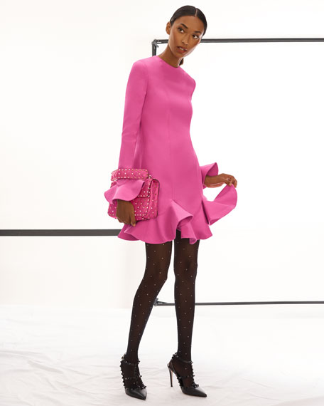 Valentino Garavani Rockstud Spike Medium Quilted Top-Handle Bag